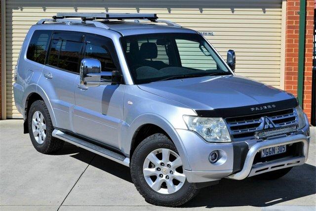 Used Mitsubishi Pajero NT MY10 GLS Mount Lawley, 2010 Mitsubishi Pajero NT MY10 GLS Silver 5 Speed Sports Automatic Wagon