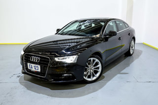 2013 Audi A5 8T MY13 Sportback Multitronic Black 8 Speed Constant Variable Hatchback.