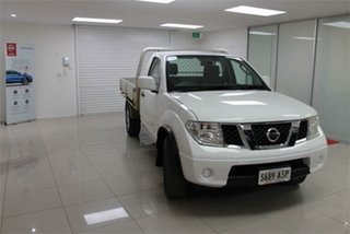 2012 Nissan Navara D40 S7 RX 6 Speed Manual Cab Chassis.