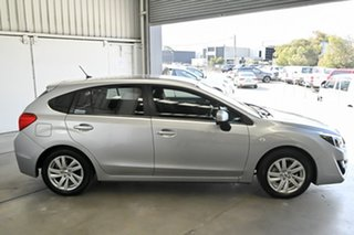 2016 Subaru Impreza G4 MY16 2.0i Lineartronic AWD Silver 6 Speed Constant Variable Hatchback