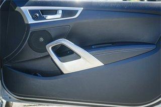 2012 Hyundai Veloster FS + Silver, Chrome 6 Speed Sports Automatic Dual Clutch Hatchback
