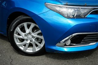 2015 Toyota Corolla ZRE182R Ascent Sport S-CVT Blue 7 Speed Constant Variable Hatchback.