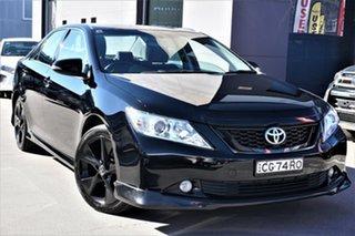 2016 Toyota Aurion GSV50R Sportivo Black 6 Speed Sports Automatic Sedan.
