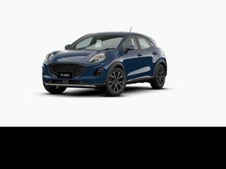 2021 Ford Puma JK 2021.25MY Puma Blazer Blue 7 Speed Sports Automatic Dual Clutch Wagon.