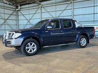 2013 Nissan Navara D40 S6 MY12 ST Blue 5 Speed Sports Automatic Utility.