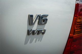 2009 Toyota Kluger GSU45R Grande White 5 Speed Sports Automatic Wagon
