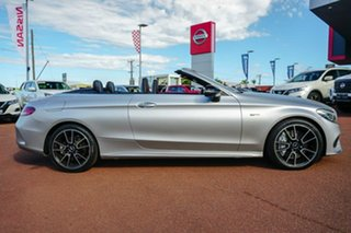 2016 Mercedes-Benz C-Class A205 C43 AMG 9G-Tronic 4MATIC White 9 Speed Sports Automatic Cabriolet.