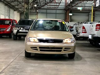 2002 Ford Laser KQ LXI Gold 4 Speed Automatic Sedan.
