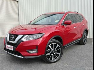 2021 Nissan X-Trail T32 MY21 Ti X-tronic 4WD Ruby Red 7 Speed Continuous Variable Wagon