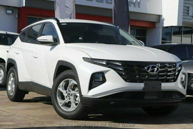 New Hyundai Tucson NX4.V1 MY22 2WD Castle Hill, 2021 Hyundai Tucson NX4.V1 MY22 2WD White Cream 6 Speed Automatic Wagon
