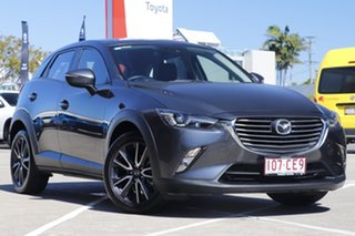 2017 Mazda CX-3 DK2W7A sTouring SKYACTIV-Drive Dark Grey 6 Speed Sports Automatic Wagon.