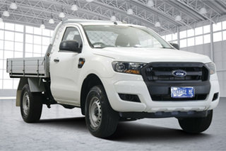 2016 Ford Ranger PX MkII XL Hi-Rider White 6 Speed Sports Automatic Cab Chassis.