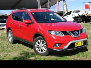 2015 Nissan X-Trail T32 ST-L (4x4) Red Continuous Variable Wagon