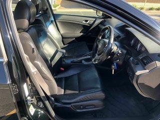 2008 Honda Accord Euro CU Luxury Black 5 Speed Automatic Sedan