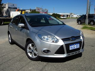 2013 Ford Focus LW MK2 Trend Silver 6 Speed Automatic Hatchback.