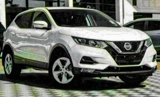 2021 Nissan Qashqai MY20 ST+ Ivory Pearl Continuous Variable Wagon