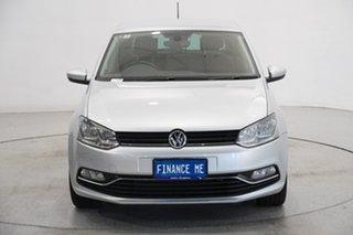 2017 Volkswagen Polo 6R MY17.5 81TSI Urban+ Silver 6 Speed Manual Hatchback.