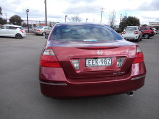 2007 Honda Accord 40 MY06 Upgrade VTi Ruby Red 5 Speed Automatic Sedan