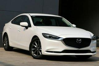2021 Mazda 6 GL1033 Sport SKYACTIV-Drive Snowflake White Pearl 6 Speed Sports Automatic Sedan.