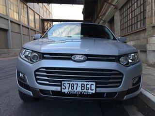 2015 Ford Territory SZ MkII TS Seq Sport Shift Silver 6 Speed Sports Automatic Wagon.