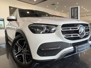 2019 Mercedes-Benz GLE-Class V167 GLE450 9G-Tronic 4MATIC White 9 Speed Sports Automatic Wagon.