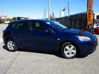 2010 Mazda 3 BL Neo Blue 5 Speed Automatic Hatchback.