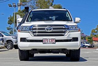 2016 Toyota Landcruiser VDJ200R GXL White 6 Speed Sports Automatic Wagon.