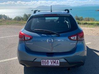 2015 Mazda 2 Blue 6 Speed Automatic Hatchback
