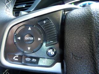 2018 Honda Civic 10th Gen MY18 VTi-LX Grey 1 Speed Constant Variable Sedan