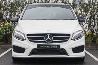 2015 Mercedes-Benz B-Class W246 B200 CDI DCT Cirrus White 7 Speed Sports Automatic Dual Clutch