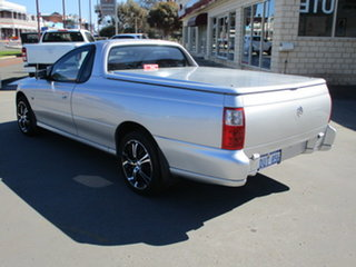 2007 Holden Commodore VZ MY06 Upgrade Ute Silver 4 Speed Automatic Utility.