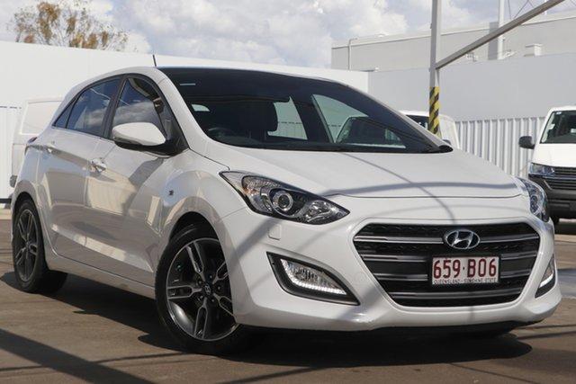 Used Hyundai i30 GD5 Series II MY17 SR Premium Bundamba, 2016 Hyundai i30 GD5 Series II MY17 SR Premium White 6 Speed Sports Automatic Hatchback