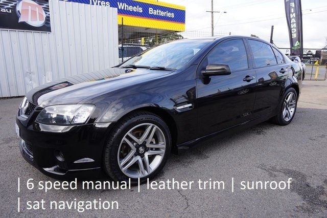 Used Holden Commodore VE II MY12.5 SV6 Dandenong, 2012 Holden Commodore VE II MY12.5 SV6 Phantom 6 Speed Manual Sedan