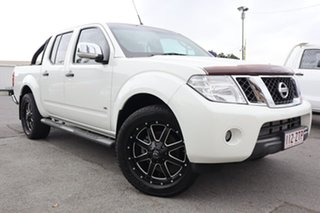 2012 Nissan Navara D40 S5 MY12 ST-X 550 7 Speed Sports Automatic Utility.