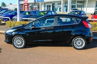 2017 Ford Fiesta WZ Sport Blue 5 Speed Manual Hatchback.