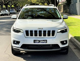 2018 Jeep Cherokee KL MY19 Limited White 9 Speed Sports Automatic Wagon.