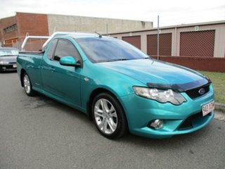 2009 Ford Falcon FG XR6 Ute Super Cab Green 4 Speed Sports Automatic Utility.