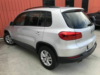 2012 Volkswagen Tiguan 5N MY12.5 132TSI Tiptronic 4MOTION Pacific Silver 6 Speed Sports Automatic.