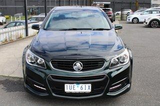 2013 Holden Ute VF MY14 SV6 Ute Green 6 Speed Manual Utility.