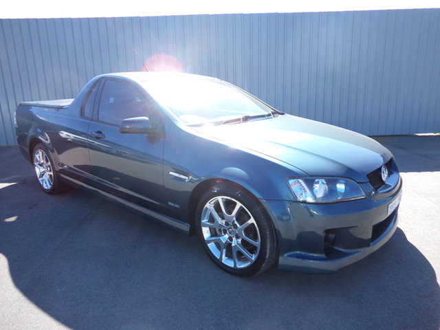 Used Holden Commodore VE MY10 SV6 Wagga Wagga, 2009 Holden Commodore VE MY10 SV6 Aqua Blue Metallic 6 Speed Manual Utility