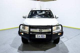 2014 Holden Colorado RG MY14 LX Crew Cab White 6 Speed Manual Utility.