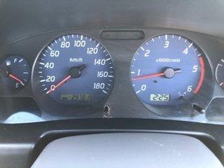 2003 Nissan Navara D22 MY2003 DX White 5 Speed Manual Utility