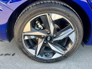 2020 Hyundai i30 CN7.V1 MY21 Elite Blue 6 Speed Sports Automatic Sedan
