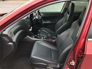 2011 Subaru Impreza G3 RS Red 5 Speed Manual Sedan