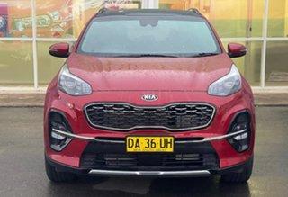 2020 Kia Sportage GT-Line Fiery Red Sports Automatic Wagon.