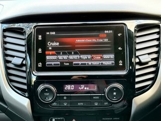 2018 Mitsubishi Triton MQ MY18 GLX+ Double Cab Sterling Silver 6 Speed Manual Utility
