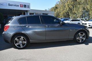 2015 BMW 1 Series F20 LCI 120i Steptronic Sport Line Grey 8 Speed Sports Automatic Hatchback.