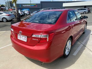 2013 Toyota Camry ASV50R Atara S Red 6 Speed Sports Automatic Sedan.