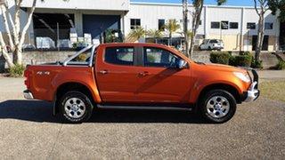 2015 Holden Colorado RG MY16 LTZ (4x4) Orange 6 Speed Automatic Crew Cab Pickup.