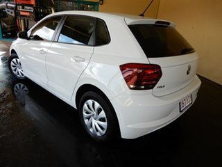 2018 Volkswagen Polo AW MY18 70TSI Trendline White 7 Speed Auto Direct Shift Hatchback.
